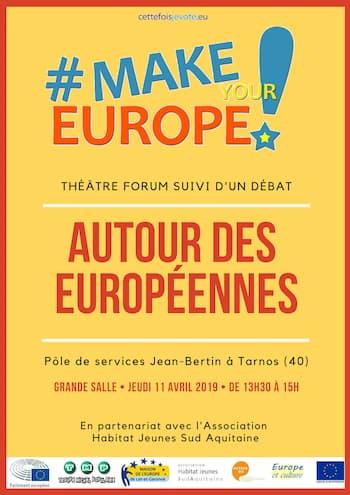 Make Europe - Autour des Européennes