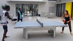 Animation co tournoi de ping pong